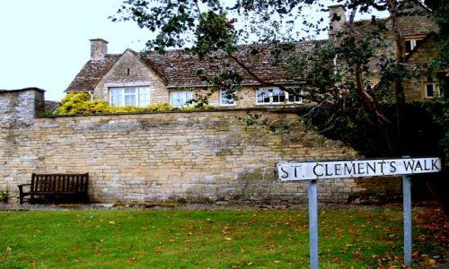 WIELKA BRYTANIA / Cotswold / miasteczko Cirencester / cirencester-Anglia