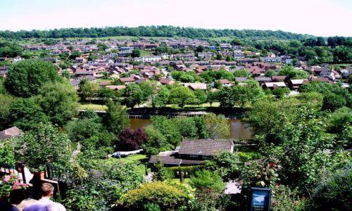 WIELKA BRYTANIA / Shropshire / miasto Bridgenorth / Bridgenorth-Anglia