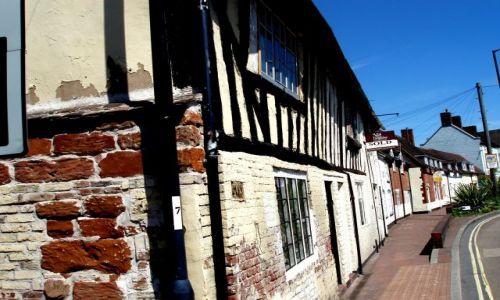 WIELKA BRYTANIA / Shropshire / miasteczko Bridgenorth / Bridgenorth-Anglia