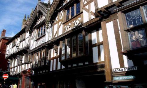 WIELKA BRYTANIA / Shropshire / miasto Ludlow / Ludlow-Anglia