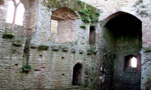 WIELKA BRYTANIA / Shrposhire / zamek w Ludlow (Castle of Ludlow) / Ludlow-Zamek