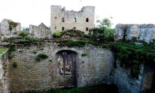 Zdjecie WIELKA BRYTANIA / Shrposhire / zamek w Ludlow (Castle of Ludlow) / Ludlow-Zamek