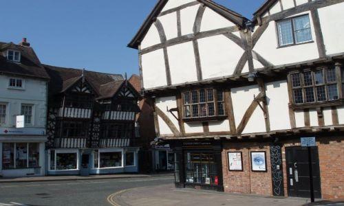 WIELKA BRYTANIA / Shropshire / miasto Shrewsbury / Shrewsbury