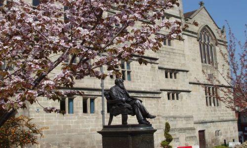 Zdjecie WIELKA BRYTANIA / Shropshire / miasto Shrewsbury / Shrewsbury-Anglia