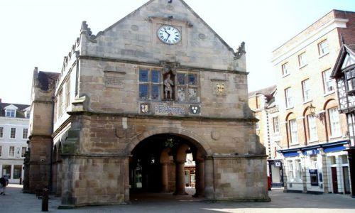 WIELKA BRYTANIA / Shrposhire / miasto Shrewsbury / Shrewsbury-Anglia