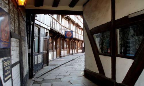WIELKA BRYTANIA / Shropshire / miasto Shrewsbury / Shrewsbury-Anglia
