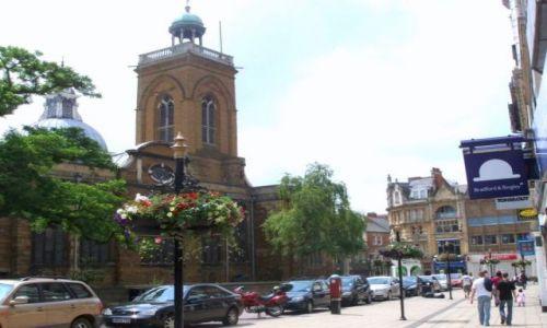 WIELKA BRYTANIA / East Midlands / miasto Northampton / Northampton