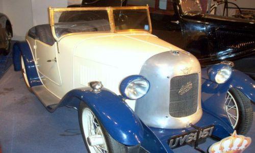 WIELKA BRYTANIA / West Midlands / Coventry Muzeum Transportu / Czar starych samochodow