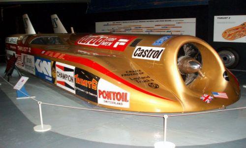 WIELKA BRYTANIA / West Midlands / Muzeum Transportu -Coventry / Czar samochodow