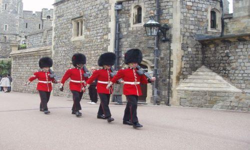 WIELKA BRYTANIA / niedaleko Londynu / zamek Windsor / Windsor Castle