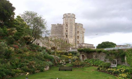 Zdjecie WIELKA BRYTANIA / niedaleko Londynu / zamek Windsor / Windsor Castle