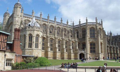 WIELKA BRYTANIA / 30 km od Londynu / Zamek Windsor / Windsor Castle