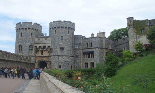 Zdjęcie WIELKA BRYTANIA / 30 km od Londynu / Zamek Windsor / Windsor Castle