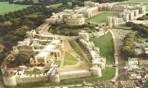WIELKA BRYTANIA / niedaleko od Londynu / zamek Windsor / Windsor Castle