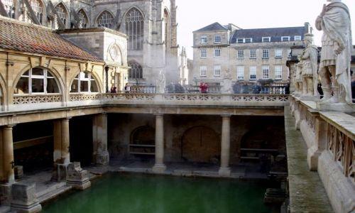 Zdjecie WIELKA BRYTANIA / Poludniowa Anglia / miasto Bath / Bath-Anglia