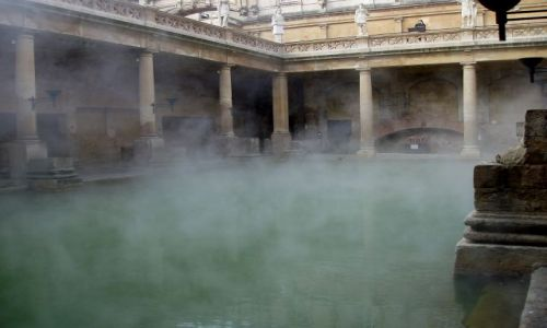 WIELKA BRYTANIA / Poludniowa Anglia / miasto Bath / Bath