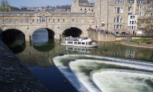WIELKA BRYTANIA / Poludniowa Anglia / miasto Bath / Bath-Anglia