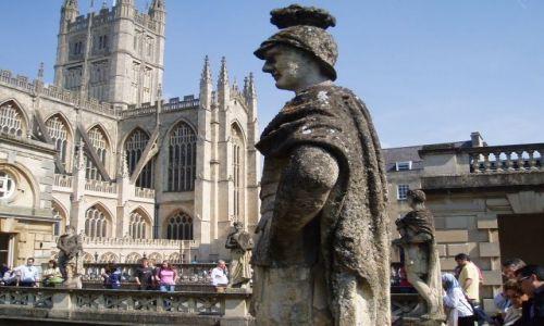 WIELKA BRYTANIA / Poludniowa Anglia / miasto Bath / Bath -Anglia