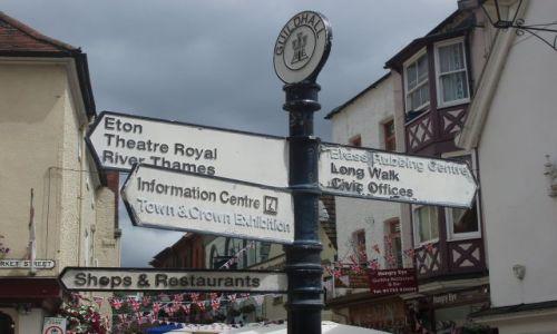 WIELKA BRYTANIA / 30 km od Londynu / miasto Windsor / Windsor-miasto