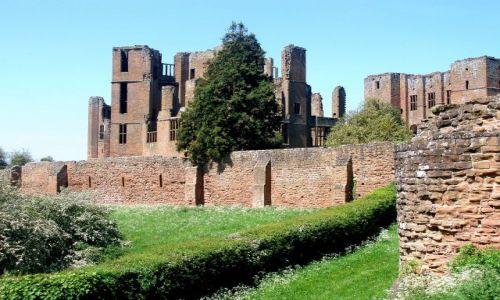 Zdjęcie WIELKA BRYTANIA / Warwickshire-Srodkowa Anglia / ruimy zamku Kenilworth / Kenilworth-Castle