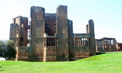 WIELKA BRYTANIA / Warwickshire-Srodkowa Anglia / ruimy zamku Kenilworth / Kenilworth-Castle
