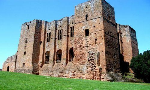 Zdjecie WIELKA BRYTANIA / Warwickshire-Srodkowa Anglia / ruimy zamku Kenilworth / Kenilworth-Castle