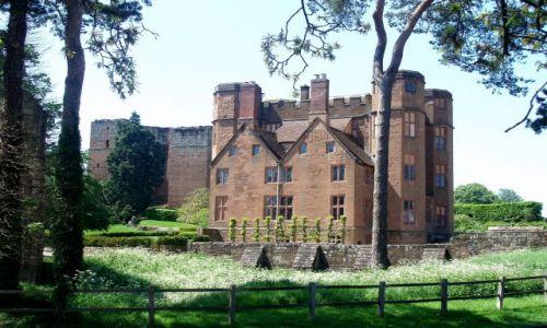 WIELKA BRYTANIA / Warwickshire ,Srodkowa Anglia / zamek Kenilworth / Kenilworth Castle