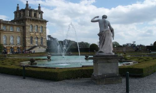 Zdjecie WIELKA BRYTANIA / Srodkowa Anglia / Palac Blenheim / Blenheim Palace