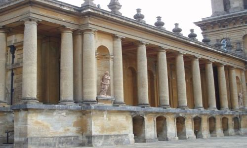 WIELKA BRYTANIA / Srodkowa Anglia / Palac Blenheim / Blenheim Palace