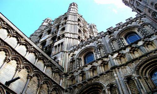 WIELKA BRYTANIA / Wschodnia Anglia / Katedra w Ely / Ely-katedra