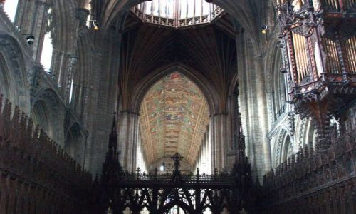Zdjecie WIELKA BRYTANIA / Wschodnia Anglia / katedra w Ely / Ely-katedra