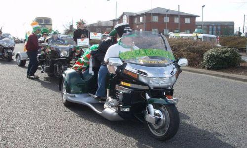 WIELKA BRYTANIA / Srodkowo-Zachodnia Anglia (West Midlands) / miasto Birmingham / Parada sw Patryka w Birmingham
