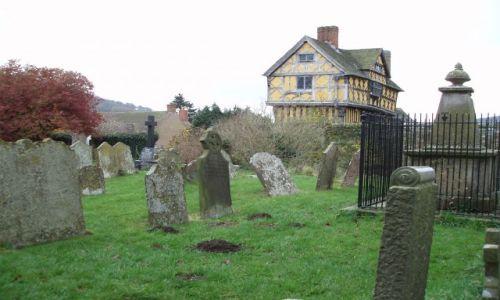Zdjęcie WIELKA BRYTANIA / Shropshire / w poblizu miasteczka Craven Arms  / STOKESAY CASTLE