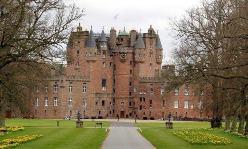 Zdjęcie WIELKA BRYTANIA / Szkocja / Glamis / Szkockie zamki