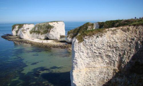 Zdjecie WIELKA BRYTANIA / Dorset / Swanage / Dorset - Old Harry Rocks