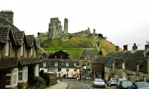 Zdjecie WIELKA BRYTANIA / Dorset / Corfe Castle / Dorset - Corfe Castle