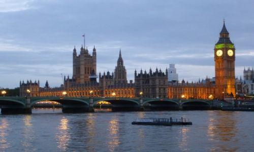 Zdjecie WIELKA BRYTANIA / Londyn / Westminster / pod wieczor