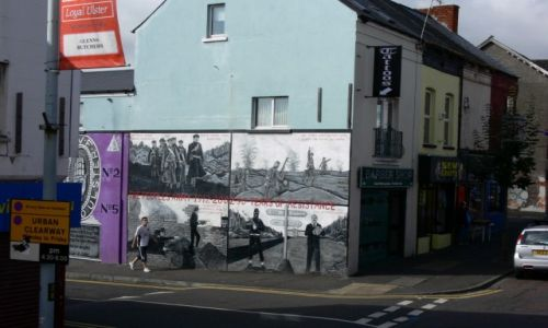 Zdjęcie WIELKA BRYTANIA / Ulster / Belfast / Graffiti