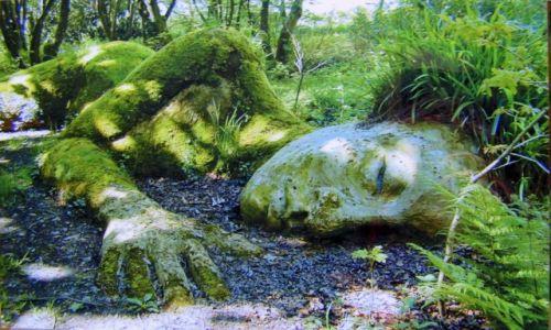 Zdjecie WIELKA BRYTANIA / Kornwalia / Lost Gardens of Heligan / Mud Maid