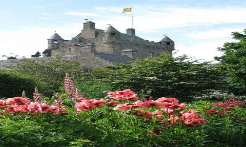 Zdjęcie WIELKA BRYTANIA / Szkocja / Cawdor Castle and garden / Zamki szkockie- Cawdor