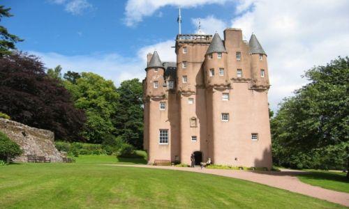 Zdjęcie WIELKA BRYTANIA / Szkocja / Craigievar / Zamki szkockie- Craigievar