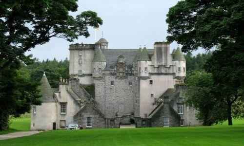 Zdjęcie WIELKA BRYTANIA / Szkocja / Fraser castle / Zamki szkockie- Fraser