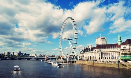 Zdjecie WIELKA BRYTANIA / Londyn / London Eye  / KONKURS
