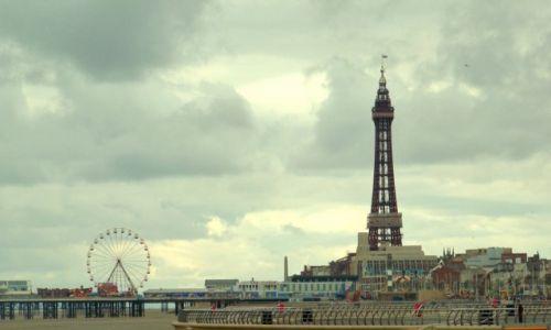 Zdjęcie WIELKA BRYTANIA / Lancashire / Blackpool / Centralne Molo