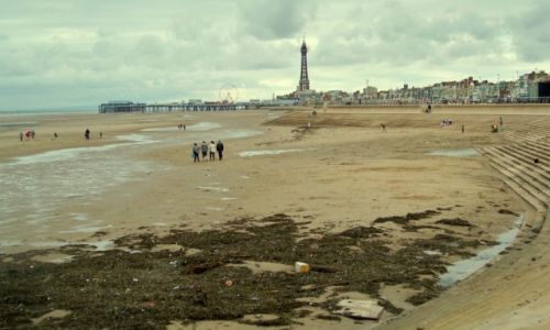 Zdjecie WIELKA BRYTANIA / Anglia, Lancashire / Blackpool / Centralne Molo
