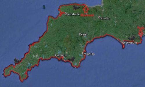 WIELKA BRYTANIA / - / Wielka Brytania / Dokładna mapa SWCP