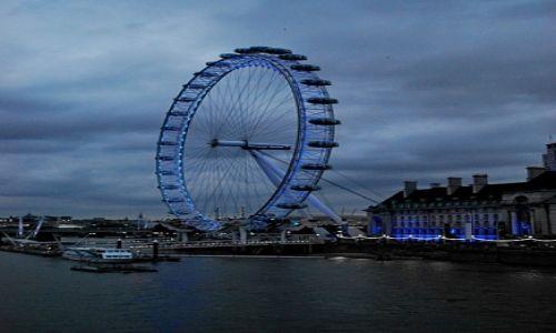 Zdjecie WIELKA BRYTANIA / London / London / the london eye