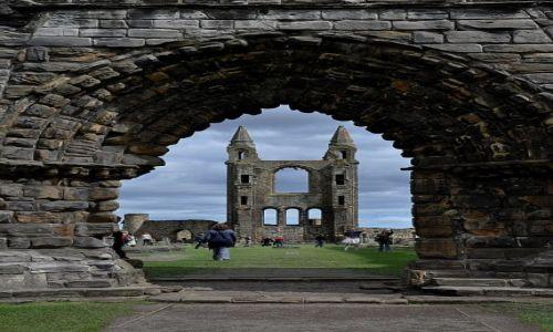 Zdjecie WIELKA BRYTANIA / Szkocja / St.Andrews / Katedra