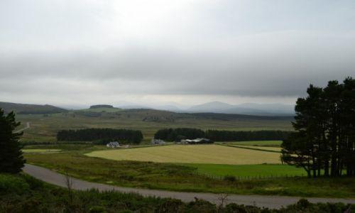 Zdjęcie WIELKA BRYTANIA / Szkocja / w drodze do Aviemore / Gdzieś daleko...