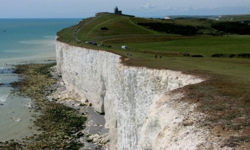 Zdjecie WIELKA BRYTANIA / hrabstwo East Sussex / Beachy Head / Kredowe urwisko